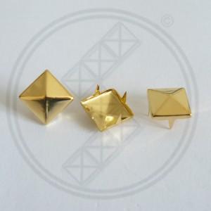 Piramide Studs Goud
