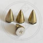 Spikes Antique Brass